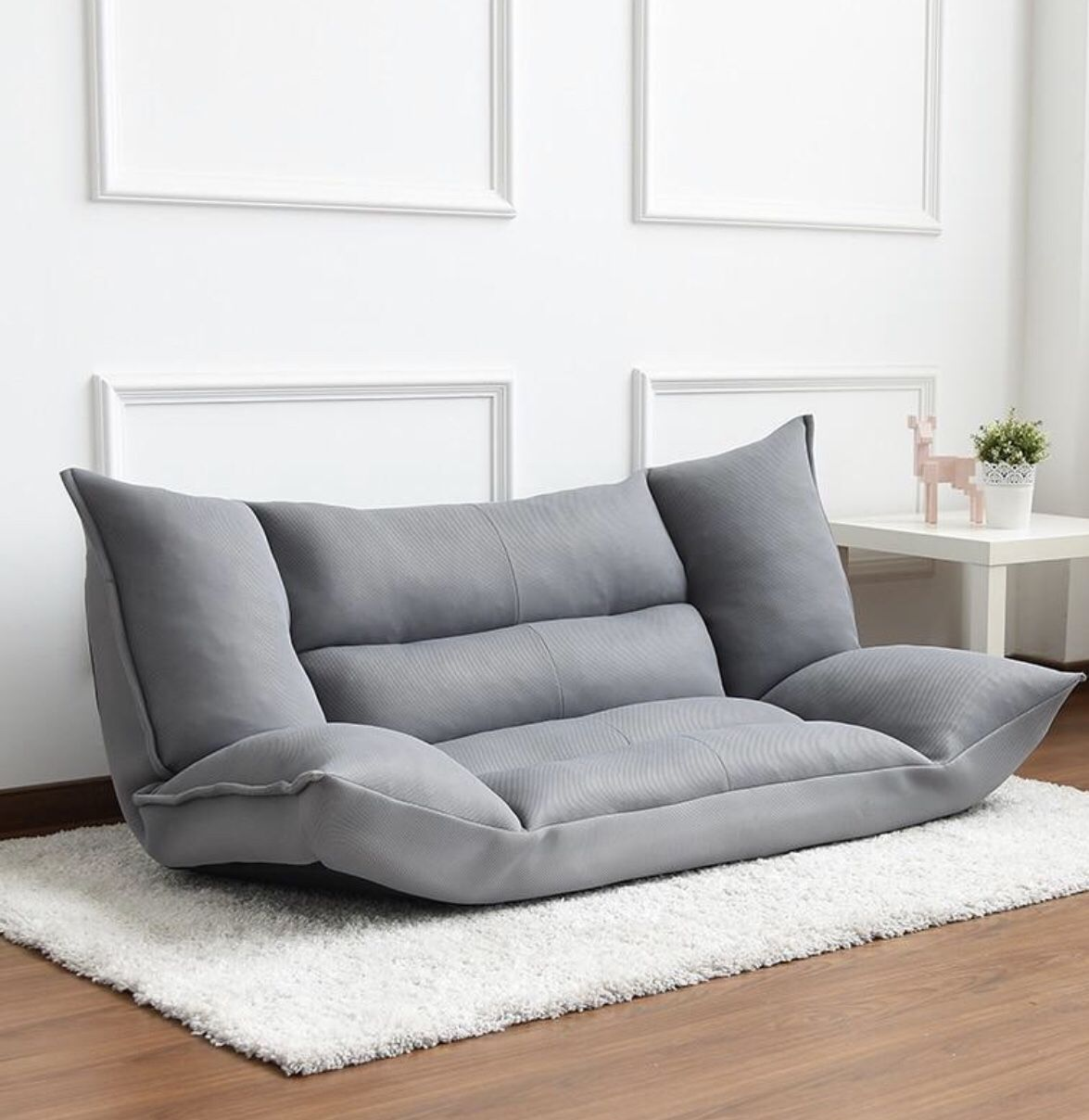This Modern Floor Cushion Sofa Is Made