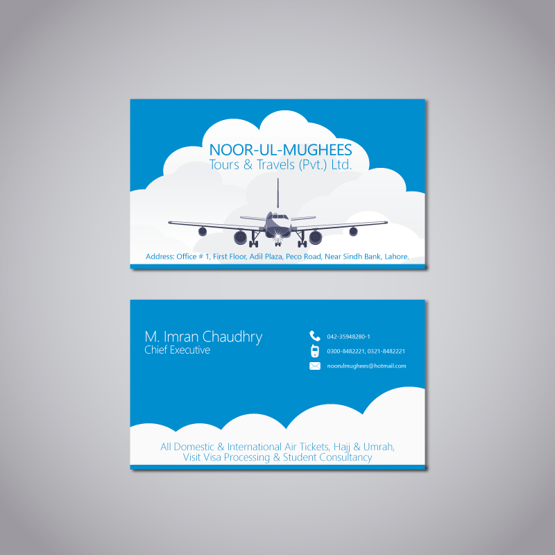 Business Card Design for Travel Agency | Branding & Logos ...