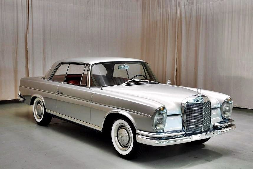 1965 Mercedes Benz 300se Coupe With Images Classic Cars