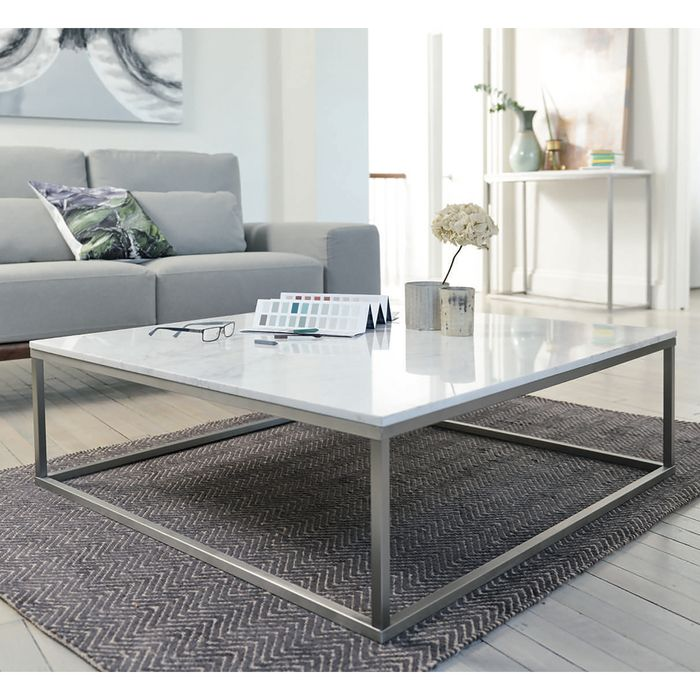 Marble Square Coffee Table White Coffee Table Square Square