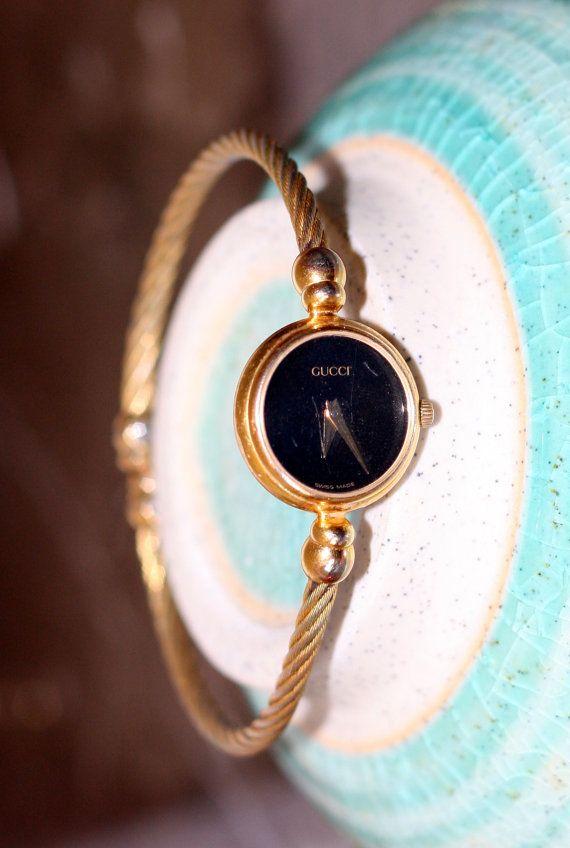 eacf7b66bb4 gucci watch thin flexible watch band