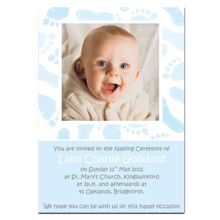 Invitation Ideas  Boy Naming Ceremony    Naming