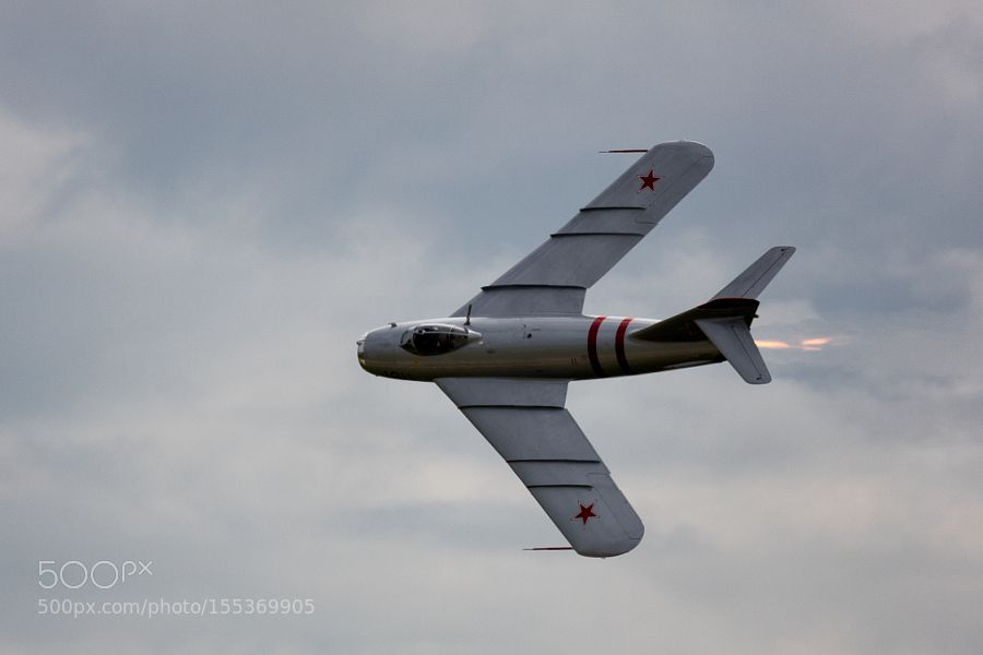 USSR Mig-17 in Flight 4 by JackGarr
