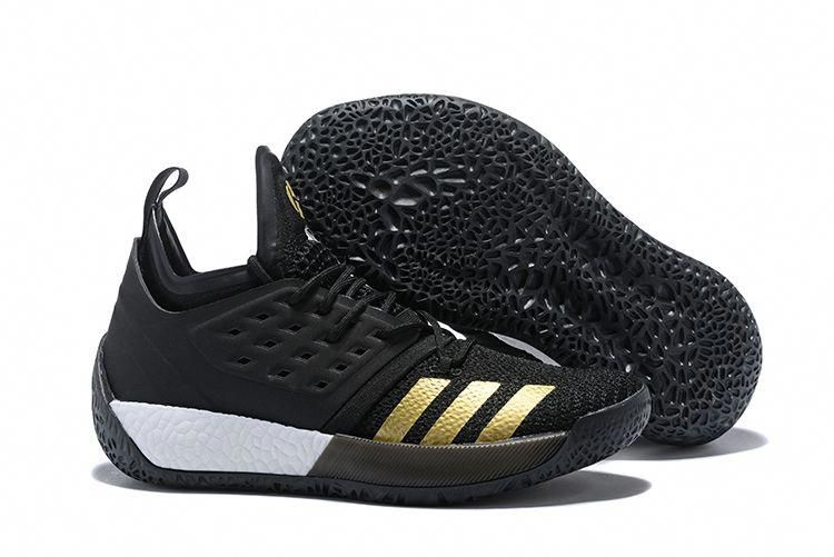 "ec1d50043e3 2018 New adidas Harden Vol. 2 ""Imma Be A Star"" Black/Gold AH2215  #adidasbasketballshoes"