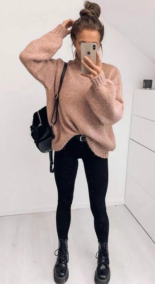 60 Women Sweaters That Always Look Great #falloutfitsschool2019