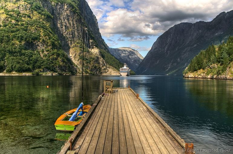Fjords of Norway by flickr user Espen Faugstad