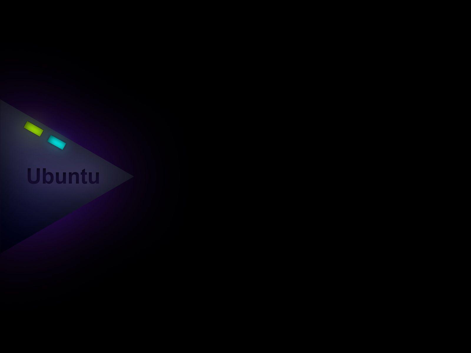 Ubuntu Dark Minimal Background Minimalism Dark Hd Wallpaper