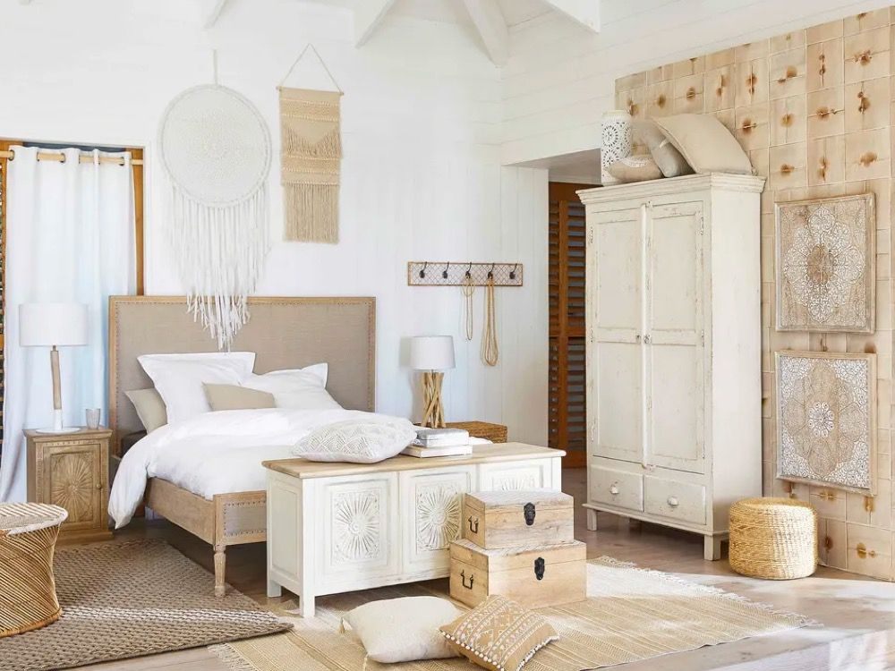 Laid Back Luxe Natural Bedroom Ideas Natural bedroom