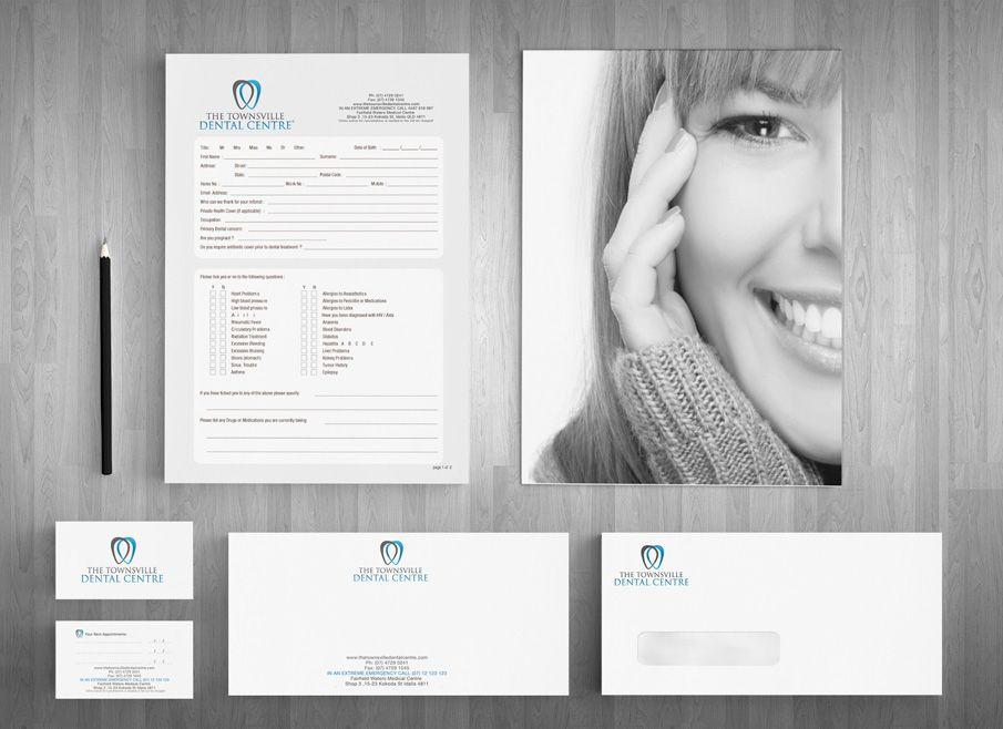Gold Coast Letterhead and Stationary Design | dentist | Pinterest ...