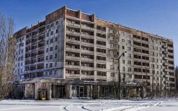 Abandoned City Of Pripyat Building Images Chernobyl Abandoned