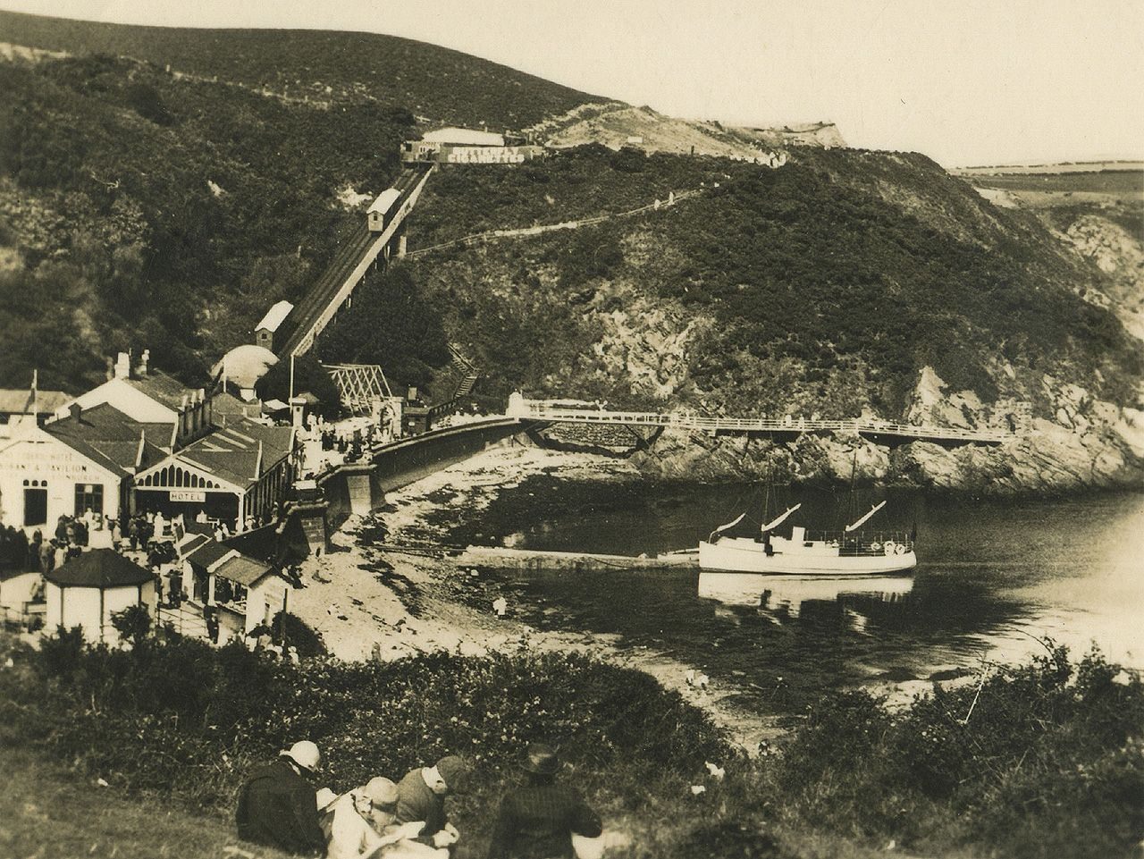 Isle of Man, Port Soderick c. 1920's.jpg (1280×961) Isle