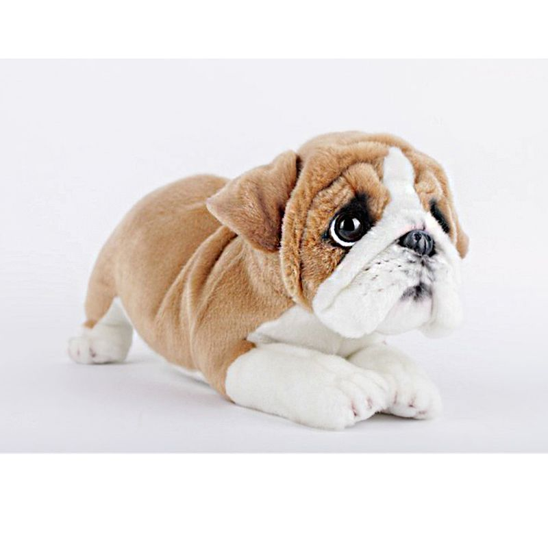 English Bulldog Stuffed Animal Belldog 35cm Plush Puppy Doll