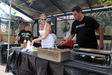 Food Trucks! Yummy New Orleans Food Truck Fare - black bean tacos - as written about in the Times Picayune