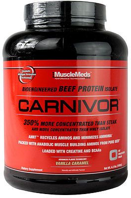 239cfc43d MUSCLEMEDS CARNIVOR HYDROLYSED BEEF PROTEIN POWDER 4.4LB CHOCOLATE ...