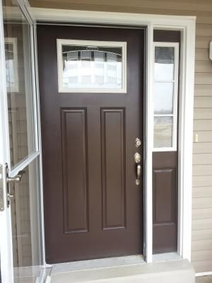 Elegant Insulated Front Entry Doors