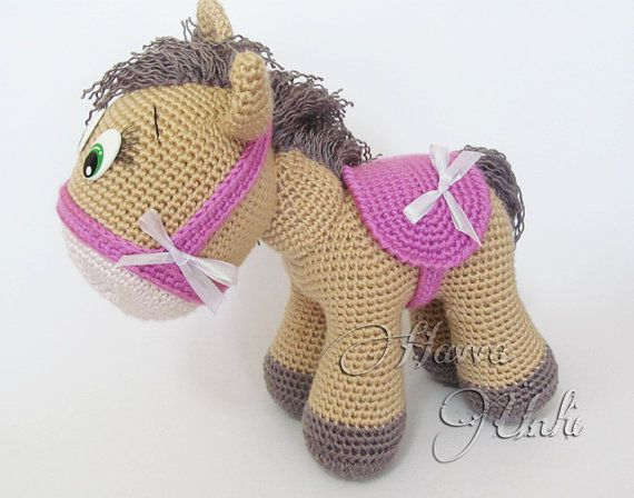 Amigurumis Caballitos A Crochet : Pattern pony amigurumi crochet amigurumi pony and crochet