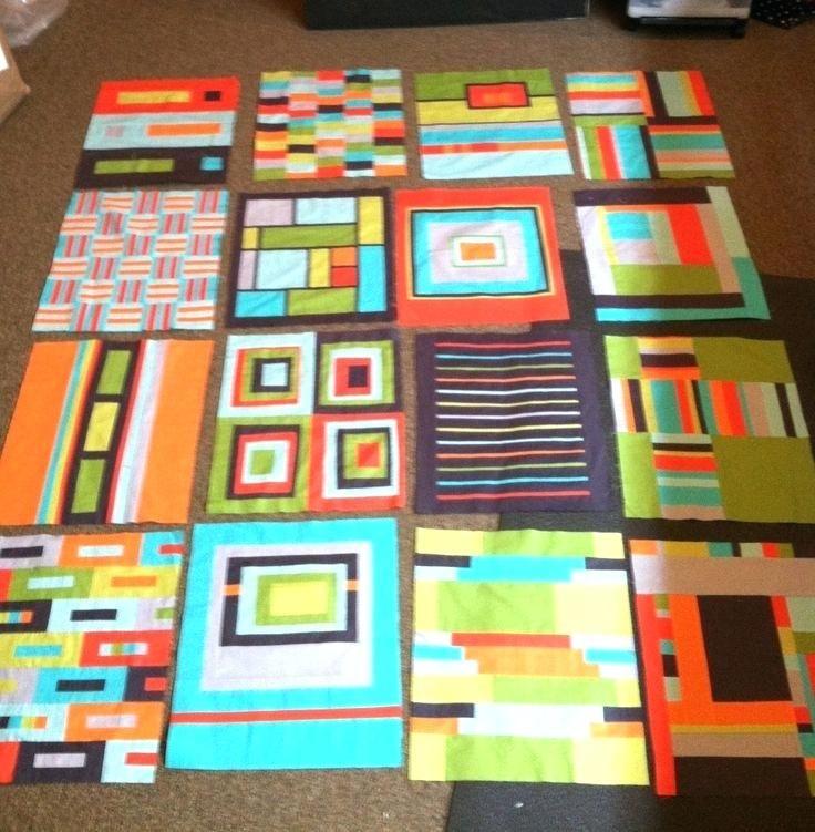 Modern Baby Quilt Patterns For Beginners More Awesome Blocks From ... : baby boy quilt patterns for beginners - Adamdwight.com