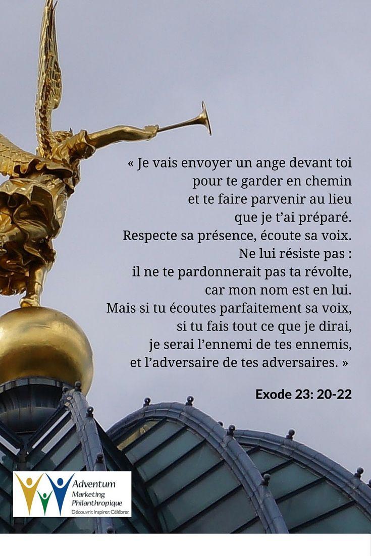 2 octobre 2015 – Exode 23: 20-22 | Bible