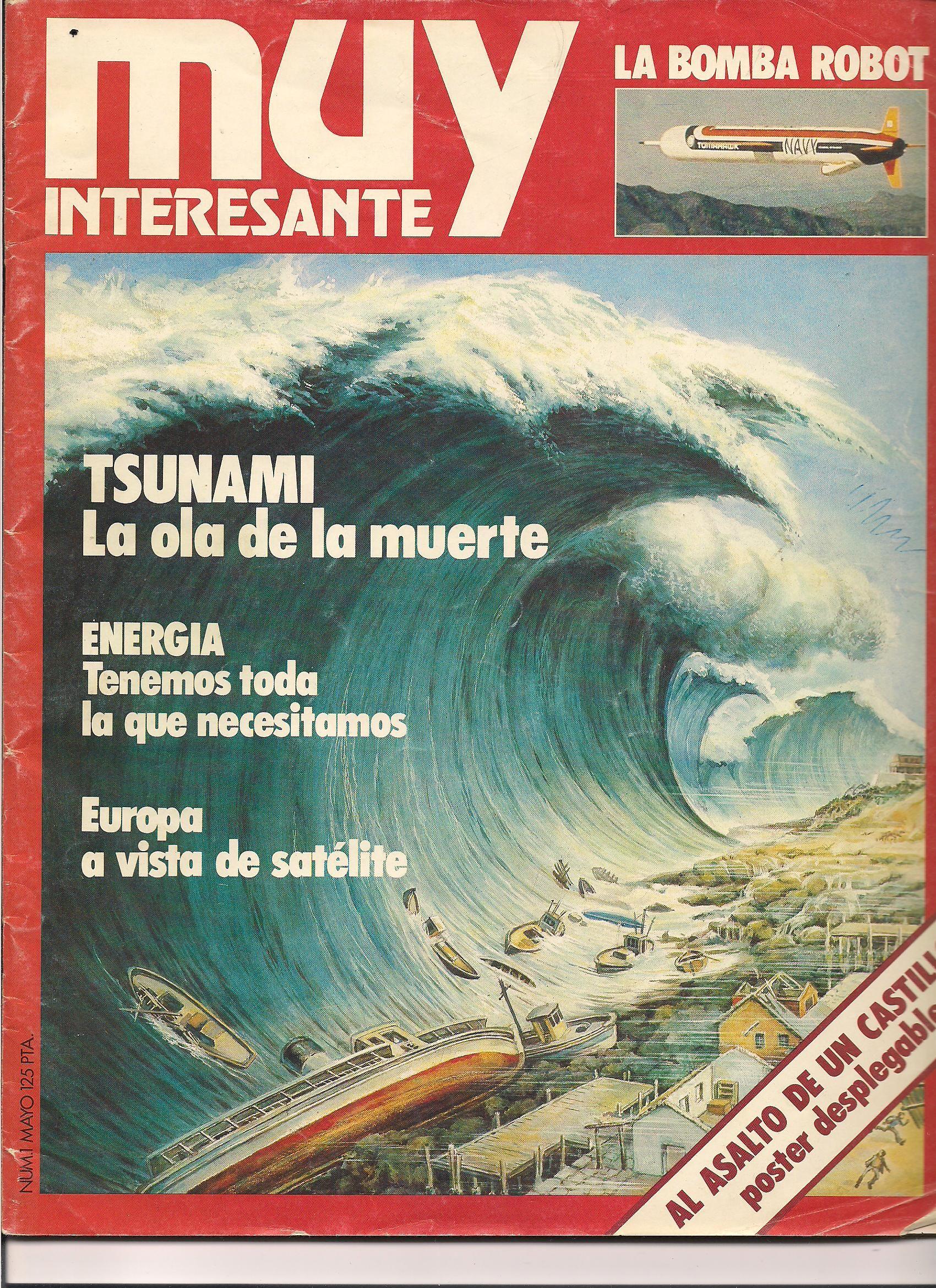 Mayo de 1.980 y 72 páginas.  precio 125 pesetas.