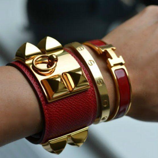 Clic H Bracelet By Hermes