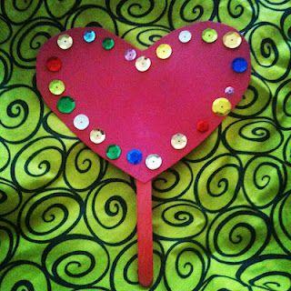 feb 14: heart   #FEBphotoaday  (heart building courtesy of Abigail; age 2)