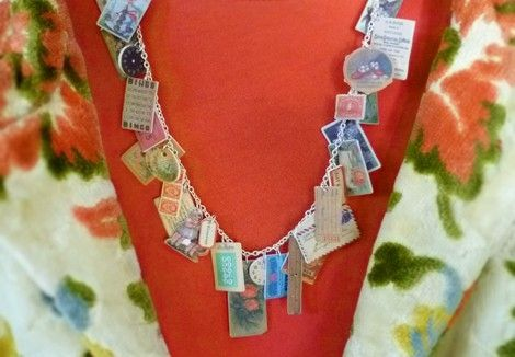 shrinky dink necklaces