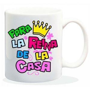 "Taza baggy  "" PARA LA REINA DE LA CASA"" http://www.worldmagic.es/tienda/164-baggy"