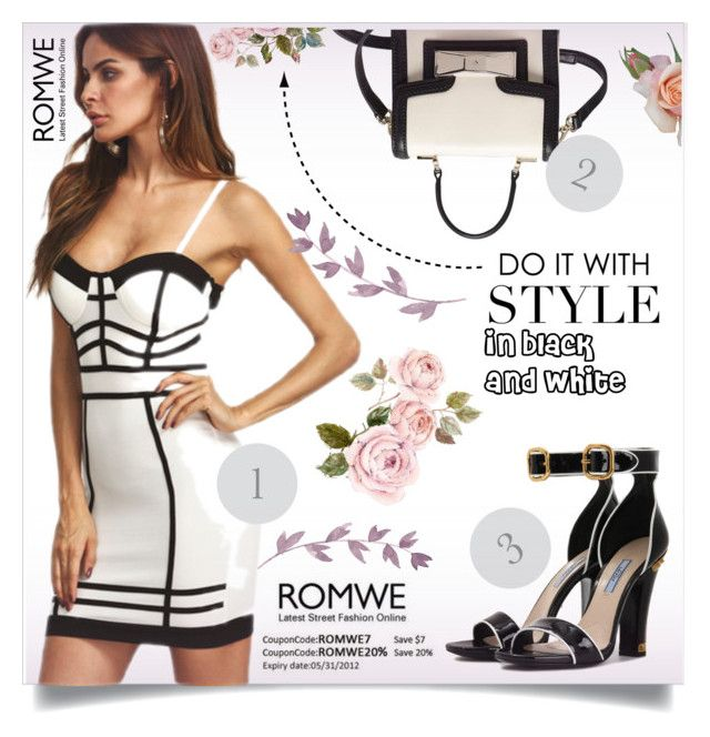 """""""www.romwe.com"""" by ellma94 ❤ liked on Polyvore featuring Prada and Kate Spade"""