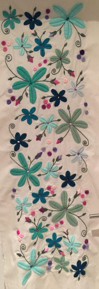 Pin de Lia Dialuce en bordado | Pinterest | Mariana, Lana y Camas