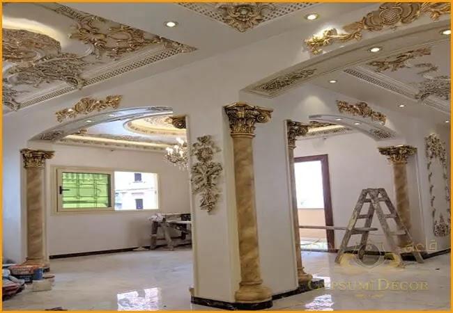ديكورات جبس اسقف راقيه Ceiling Decor Modern Design Modern Decor