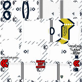 Boca Juniors 2020 Kit Dls20 Kits In 2020 Goalkeeper Kits Boca