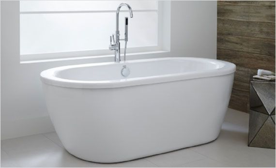 affordable luxury: the american standard freestanding cadet bathtub