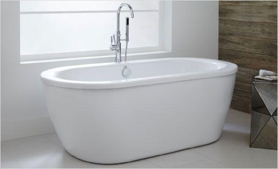 Affordable Luxury The American Standard Freestanding Cadet Bathtub