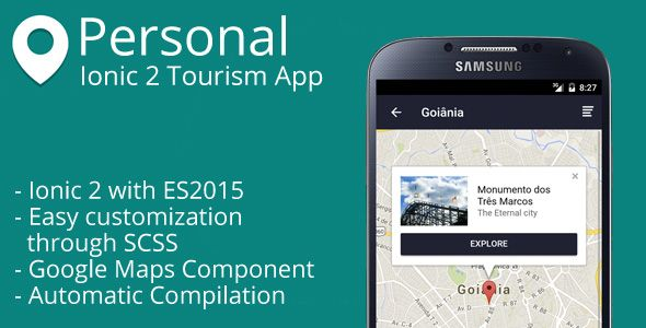 Personal - Ionic 2 Tourism App | Code-Scripts-and-Plugins