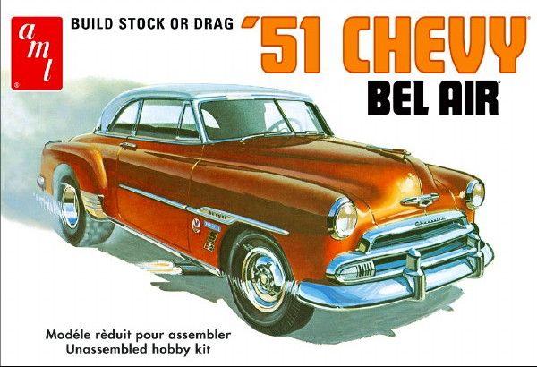 1951 Chevy Bel Air 2'n1 Stock or Drag (862)