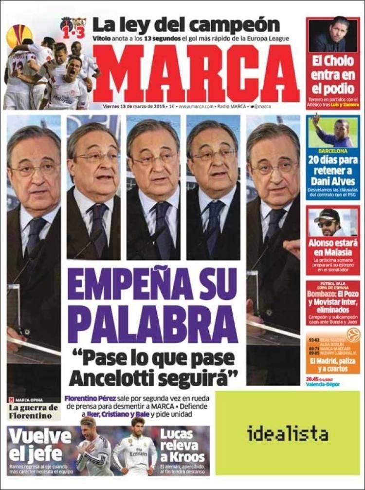 Portada Marca 13/03/2015