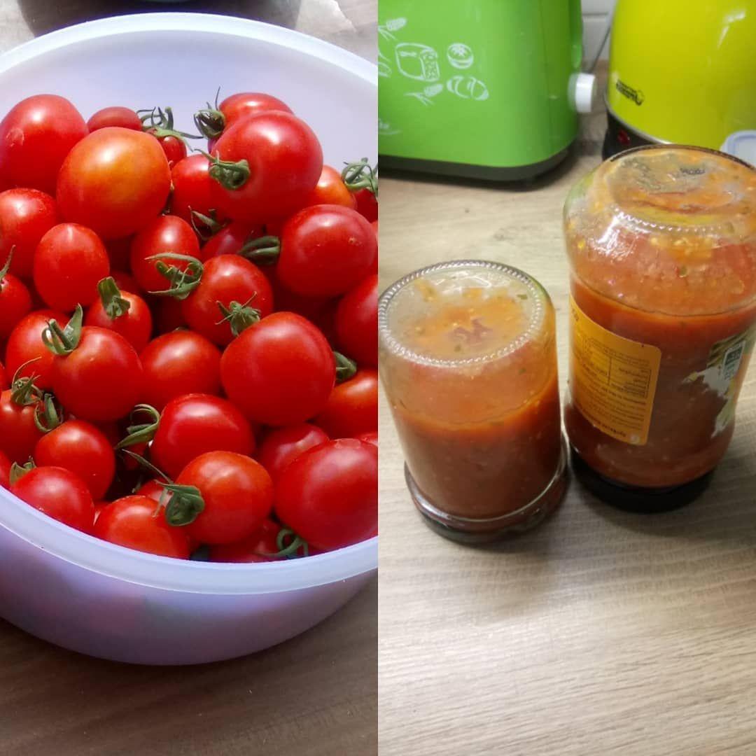 Wenn Man Zu Viele Tomaten Hat Um Diese So Zu Essen Dann Macht Man Einfach Sosse Fur Pizza Oder Nudeln Lecker Wasvieleuberseh Garten Ideen Garten Essen
