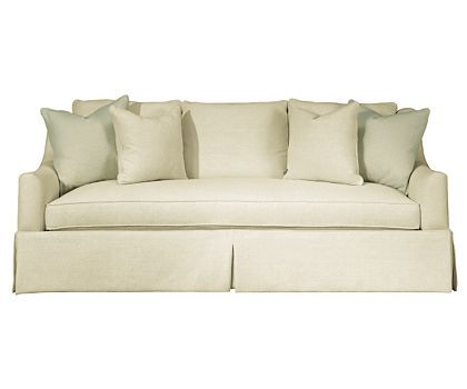 Nice Hickory White Sofa | Instinctive Interiors At Home: THE LIST #6 Single  Cushion Sofas