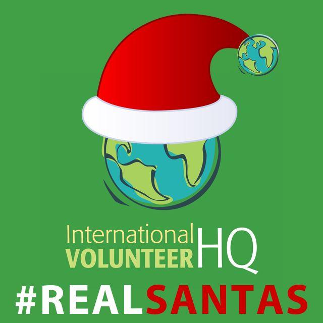 This Christmas We Re Celebrating The Realsantas Of Ivhq Volunteer Overseas Volunteer Opportunities International Volunteer