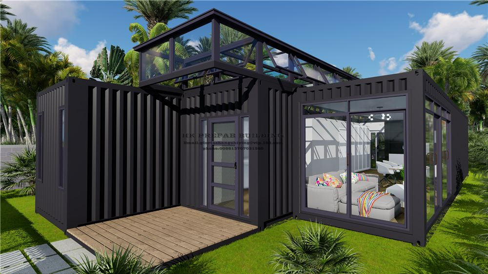 40ft Modified Modular Prefabricated Movable Shipping Container House