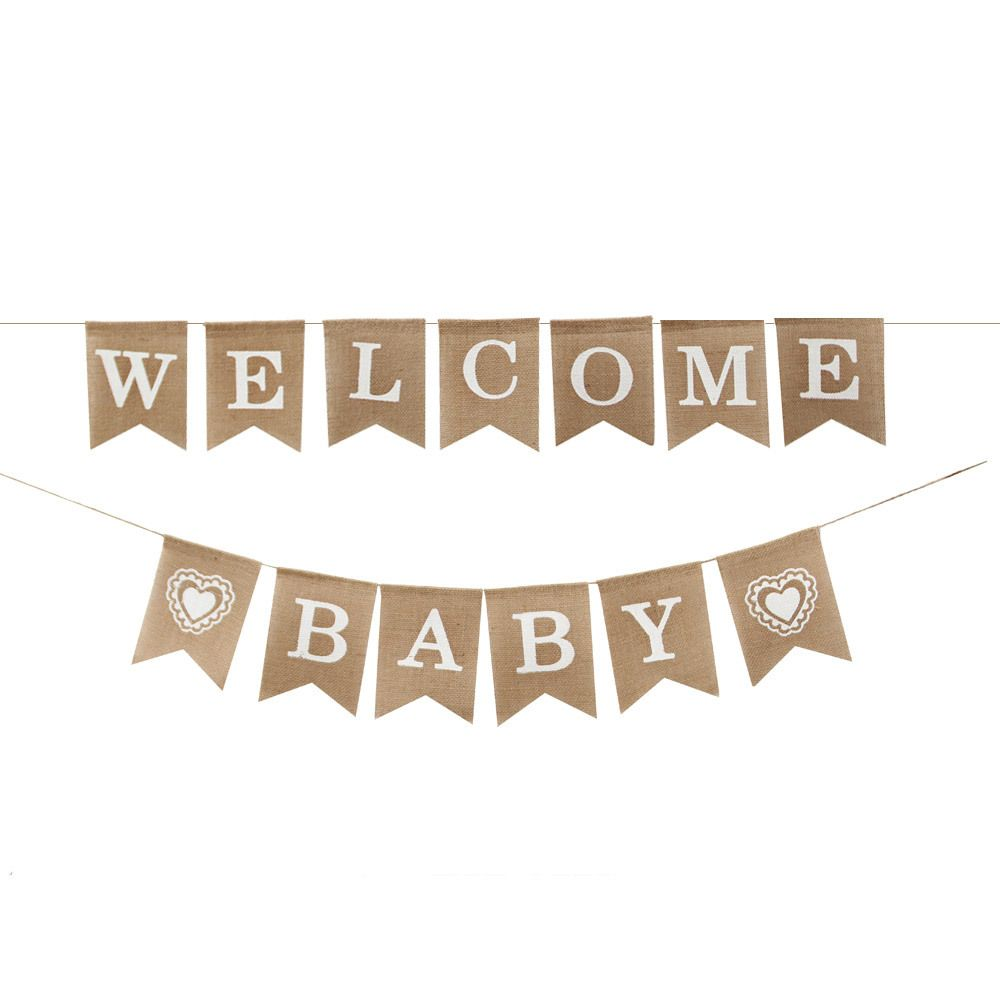 Vintage WELCOME HOME Banner for Home Decoration Family Party ...