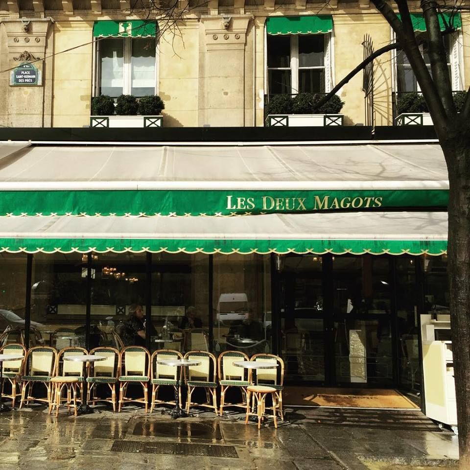 #CafeDuLait with #Emerald #lesduexmagots #stgermain