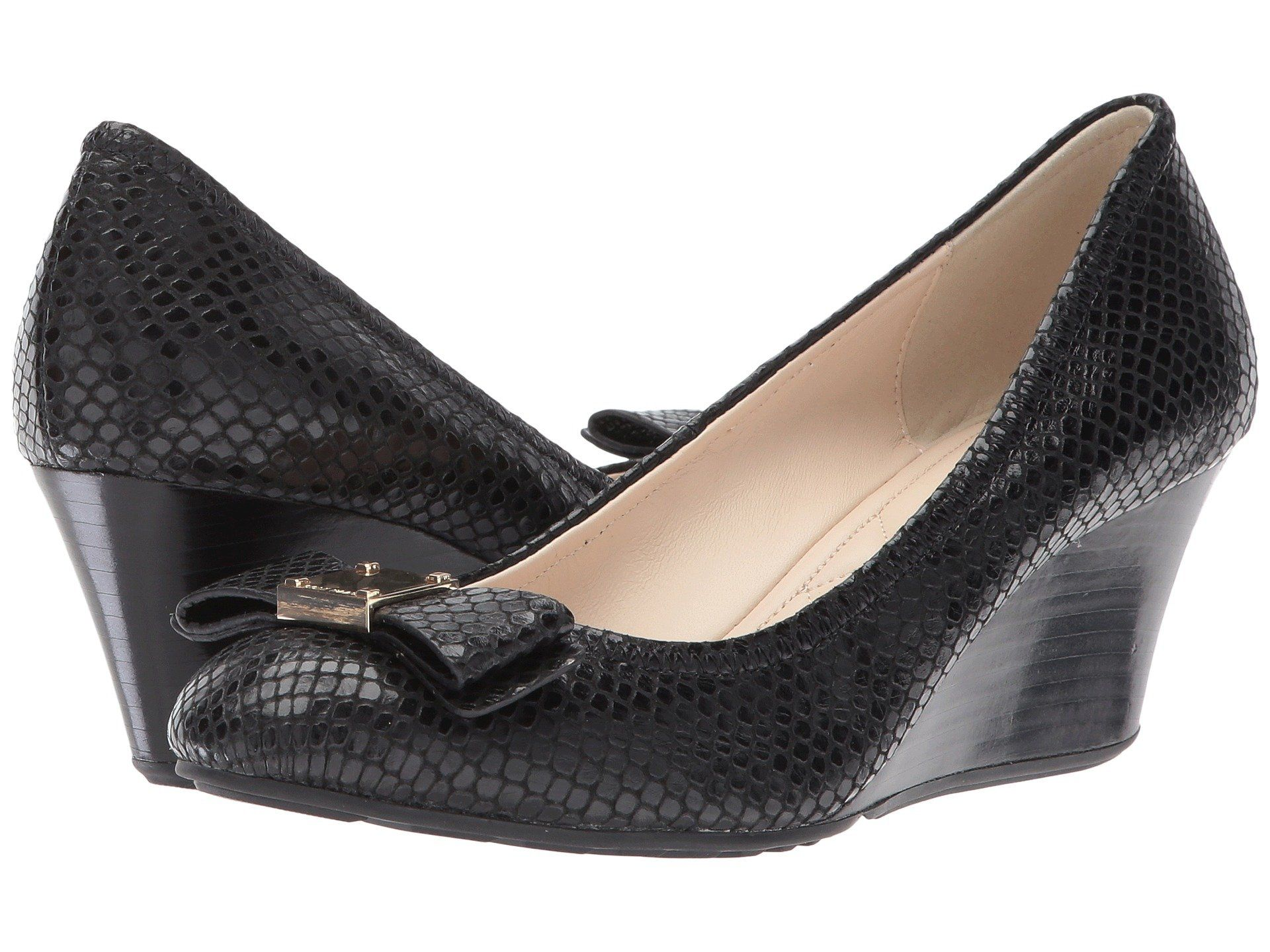 64cd1f9f1 COLE HAAN | Cole Haan Tali Grand Bow Wedge 65 #Shoes #Heels #COLE HAAN