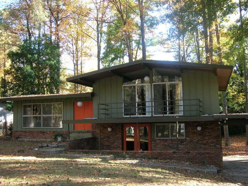 The house photo split level pinterest for Modern home exterior makeovers