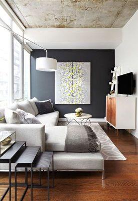 kleine woonkamer inspiratie - residence - cursus interieur styling, Deco ideeën
