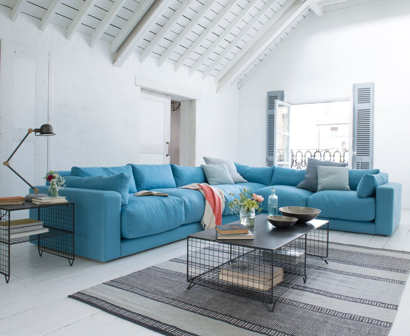 the latest d75a0 a7d33 Atticus Corner Sofa | LIVING ROOMS | Corner sofa living room ...