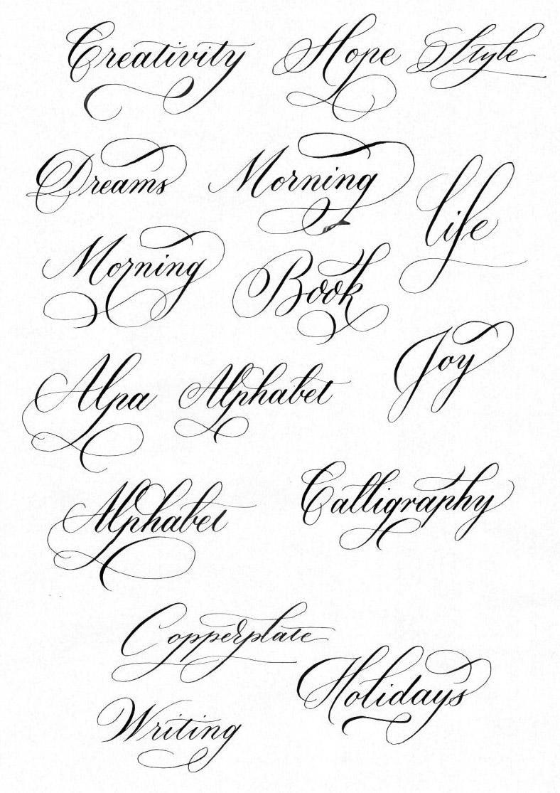 Шрифты букв для оформления открыток, дочка смешная картинка