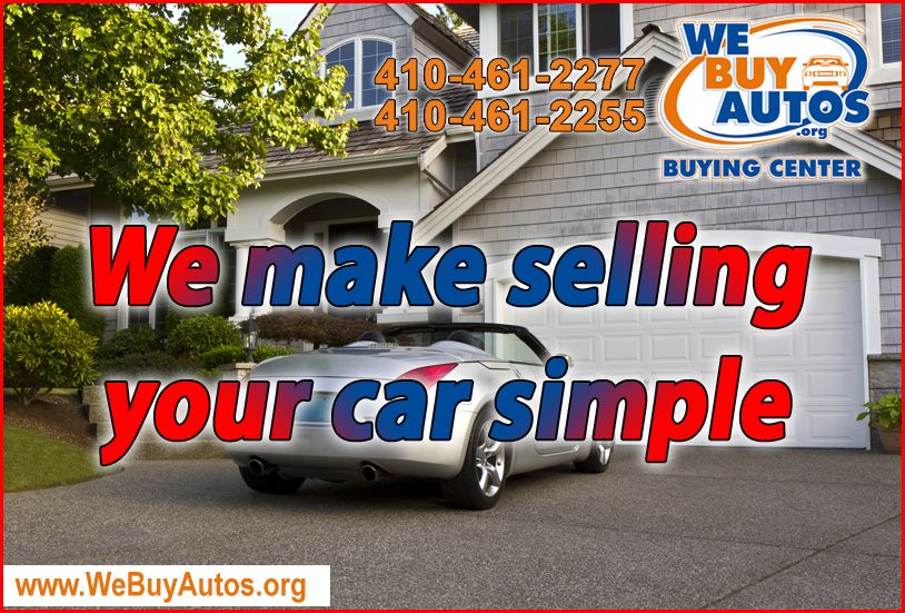 We make selling your car simple. You can visit our store