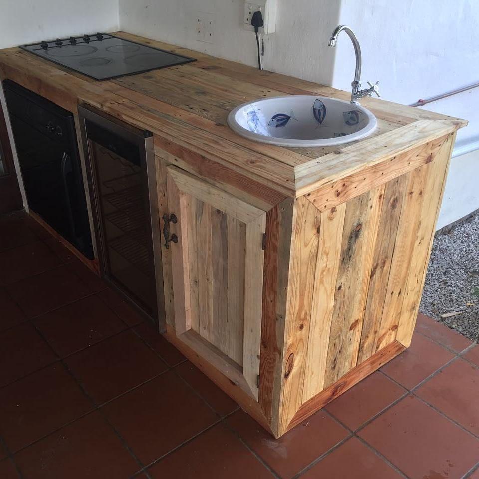 Wooden Pallet Kitchen Cabinets Pallet Kitchen Wood Pallets Wood Pallet Furniture