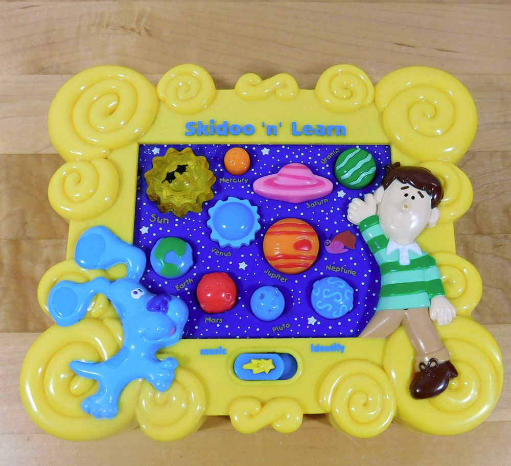 2000 BLUES CLUES SKIDOO 'N LEARN electronic Planets Solar System Excellent in Toys & Hobbies, TV, Movie & Character Toys, Blues Clues | eBay